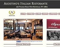 Web Design: Agostino's Italian Ristorante