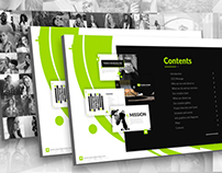 Be+ Powerpoint presentation template