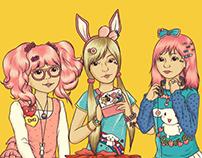 Sugar, Spice, and Everything Nice - Kawaii Girls