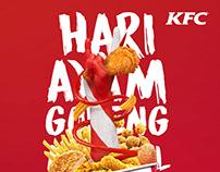 Pastinya Sih KFC - Hari Ayam Goreng Nasional