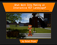 RIT Senior Thesis Project