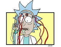 Rick / Weapon X Mashup
