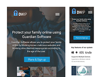Guardian Software responsive template