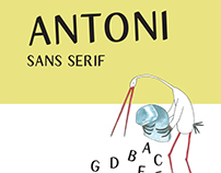bezszeryfowy antoni | antoni sans serif font