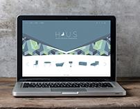 Haus Website design