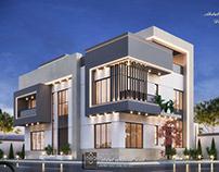 Super Elegant Simple modern villa in UAE