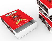 matchbox packaging design