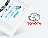 Toyota | Facebook Application