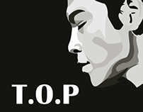 T.O.P Vector Portrait (2)