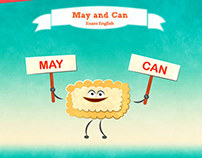MAY AND CAN. FREE LESSON-ON LINE. ISA E. I.