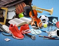 La culture et le sport en poche !