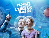 Plongez au coeur de l'énergie marine