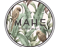 [logo&typography] MAHE homeware