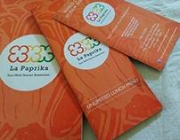 Branding for La Paprika- A multi cuisine restaurant