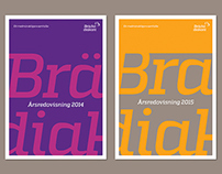 Bräcke diakoni redesign of visual identity