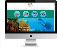 Le Doris plongée / Scuba diving website