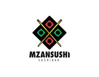 Mzansushi Restaurant Branding