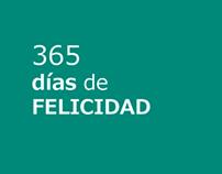 365 DÍAS DE FELICIDAD