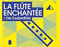 LA FLÛTE ENCHANTÉE - Poster