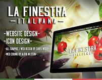 La Finestra Italiana - Web Site Design