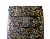 Calligraffiti on iPad Case