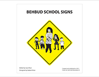 Behbud School Signs Brochure Design