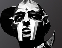MF DOOM - low-poly