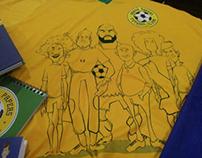 Ilustras Jogadores da Seleção Brasileira