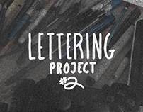 Lettering Project #2