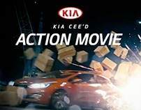 Kia cee'd Action Movie