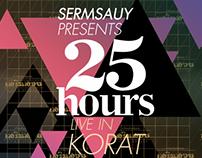 25 HOURS live in korat thailand 2OO9