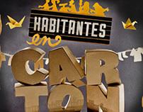 4to Desafío de Ilustración - Habitantes de cartón