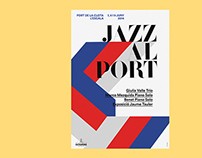 Jazz al Port music Festival Identity
