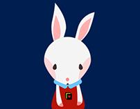 illust : wonderland rabbit