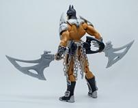 Mattel DC Batman Croc Armor Batman