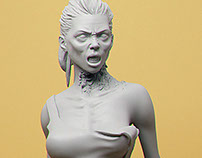 Zombie Jessica 1/35 scale collectible
