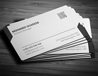 Creative Corporate Business Card 35