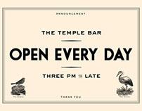Temple Bar Signage