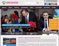 A municipality website for Görele Belediyesi, Giresun