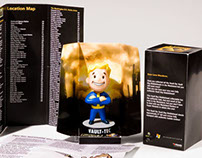 Fallout 3 Vault Boy Bobble Head Package Design