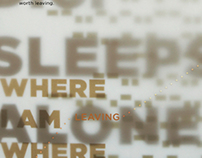 The Postal Service Lyric Poster