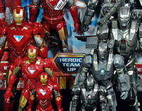 Hasbro Iron Man 2 All Scale
