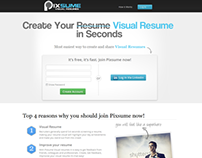 Visual Resume Ux Design