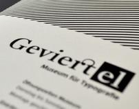 Geviertel - Museum für Typografie