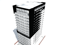 Residential tower in Barranquilla, Colombia