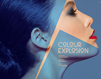 Dark Beauty Magazine/ Issue32-Flawless/Colour Explosion