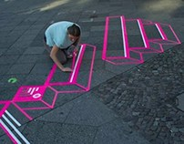 TAPE ART BRANDING // BERLIN MUSIC WEEK