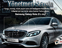 Mercedes-Benz You Are The Director Facebook App