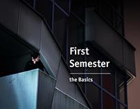 first semster - basics