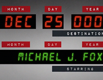 Back To The Future - Opening Title
